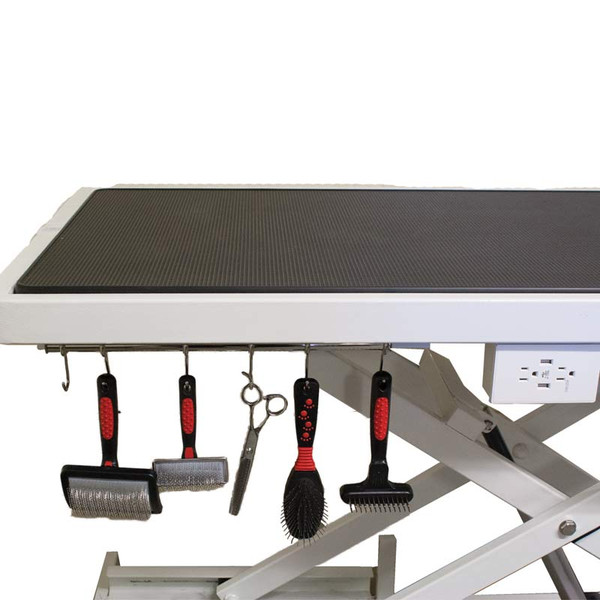 Dog Grooming Table Storage Hooks available at Ryan's Pet Supplies