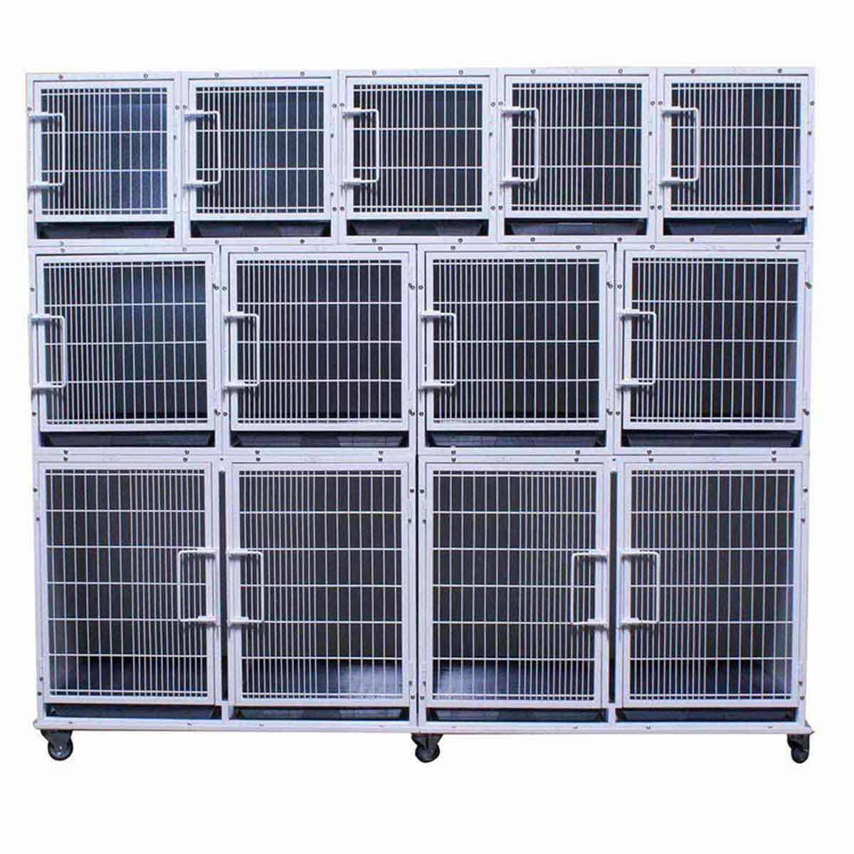 Complete Paw Brothers Professional Full Modular Cage Bank