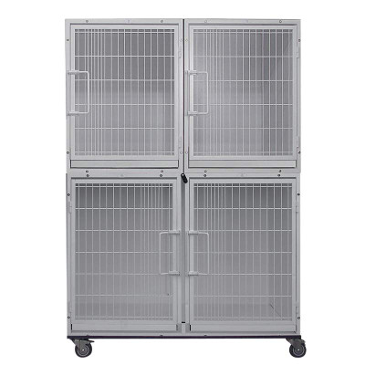 Paw Brothers Professional Modular Cage Half Bank Includes 4 Cages?resizeid=5&resizeh=400&resizew=400