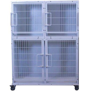 Paw Brothers Professional Modular Cage Half Bank Medium Short