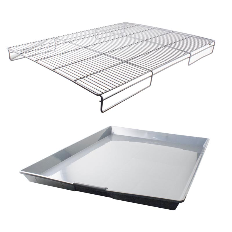 Grate & Pan Set For Select Paw Brothers Professional Cages