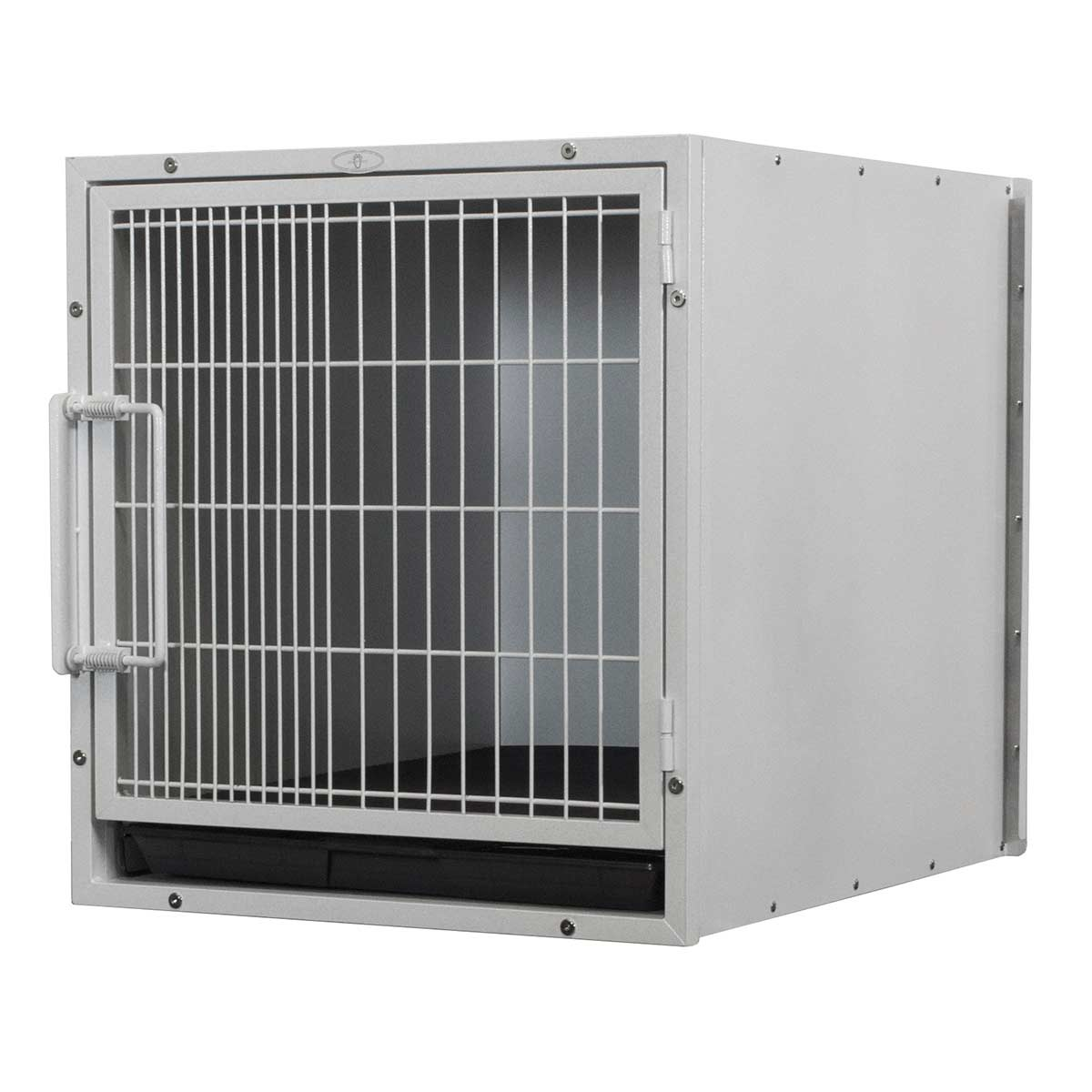 Paw Brothers Professional Medium-Short Modular Cage with Pan & Grate