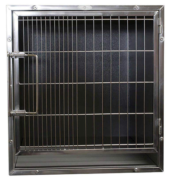 Paw Brothers Professional Stainless Medium-Short Modular Cage