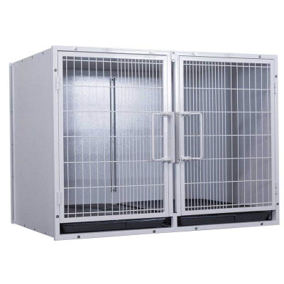 Paw Brothers Professional Large Modular Cage for Vets, Kennels and Groomers