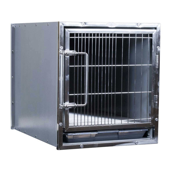 Paw Brothers Professional Stainless Steel Modular Cage 17.5 inches by 19.5 inches by 22 inches