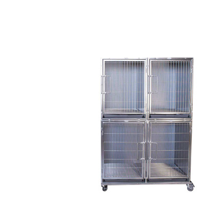Paw Brothers Professional Modular Cage Stainless Steel Hybrid Half Bank