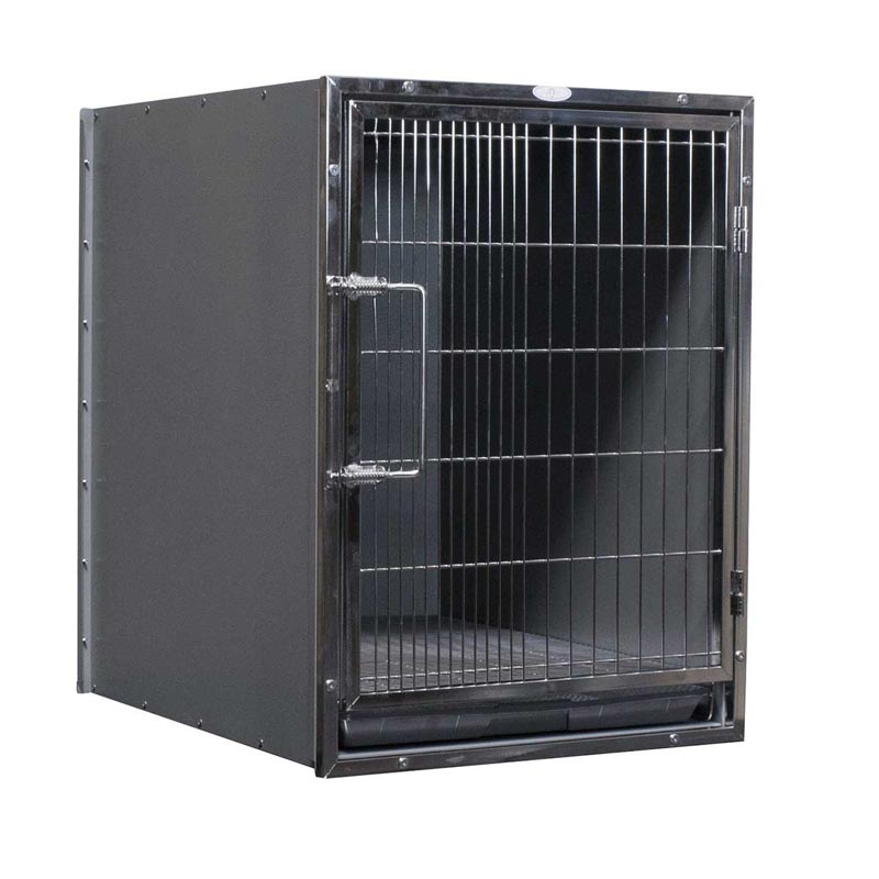 "Paw Brothers Professional Stainless Steel Modular Cage 21.75"" X 29.5"" X 26"""