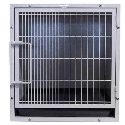 Paw Brothers Modular Hybrid Cage Medium-Short with Pan & Grate