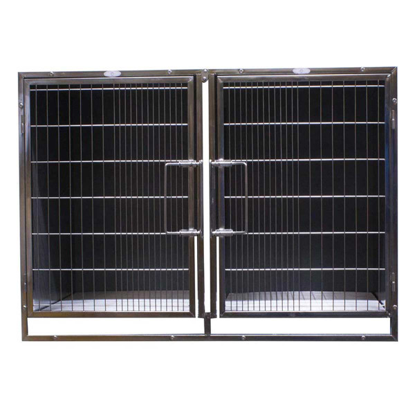 Stainless Steel Door Assembly For Select Paw Brothers Professional Modular Cages