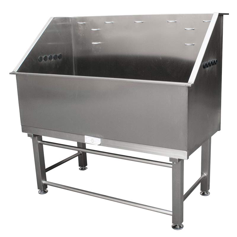 Paw Brothers Professional Stainless Steel 48 inch Dog Grooming Tub