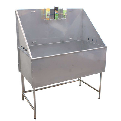 Paw Brothers Professional Stainless Steel Grooming Tub for Dog Groomers
