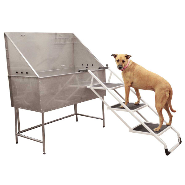 Paw Brothers Pet Stairs for Grooming Tub - Extension Hooks Included