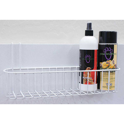 Paw Brothers Professional White Powder Coated Replacement Shampoo Rack