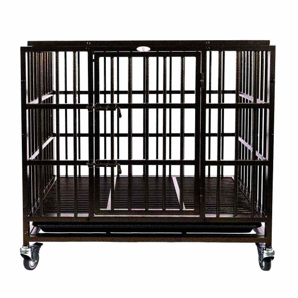 Medium Paw Brothers Supreme Crate designed for aggressive, active dogs