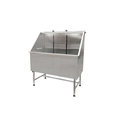 Paw Brothers Stainless Steel Solid Basin Grooming Tub