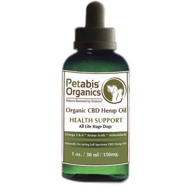 Petabis Organics PCR Oil All Life Stage Dogs 30 ml 150 mg
