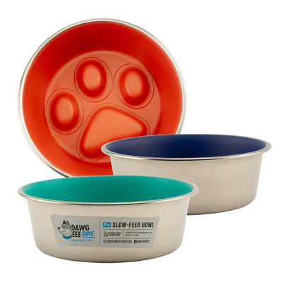 Dawgeee Dine Slow Feed Bowls for dogs