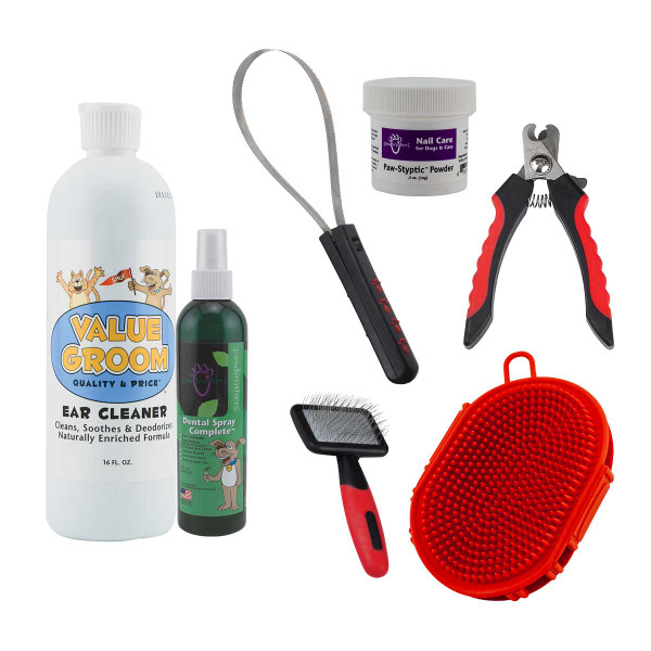 Paw Brothers At-Home Grooming Kit - Large Dog/Short Hair
