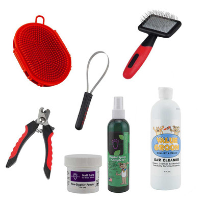 Paw Brothers At-Home Grooming Kit - Small Dog Short Hair