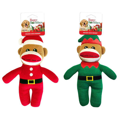 Pet Factory Holiday Sock Monkeys Assorted Dog Toys?resizeid=5&resizeh=400&resizew=400