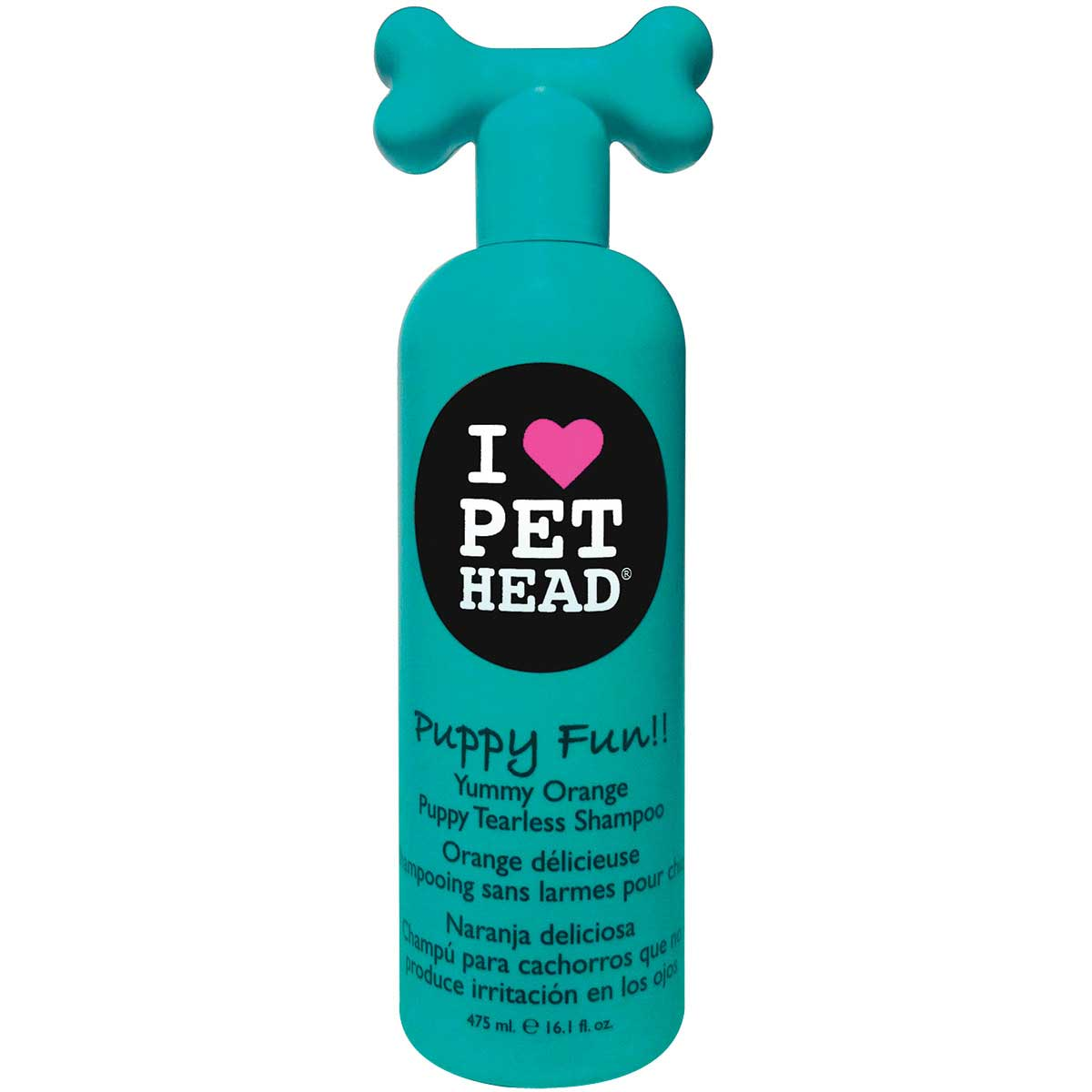 Pet Head Puppy Fun! Yummy Orange Tearless Shampoo for Puppies 16.1 oz