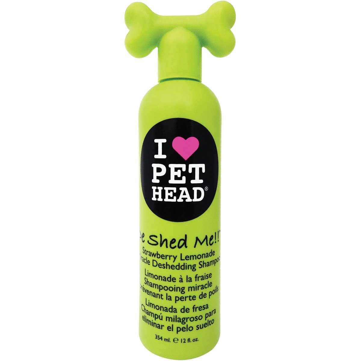 Pet Head De Shed Me!! Strawberry Lemonade Deshedding Shampoo for Dogs 12 oz