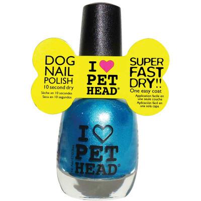 Pet Head Fast Dry Dog Nail Polish - Cool Teal .5 oz