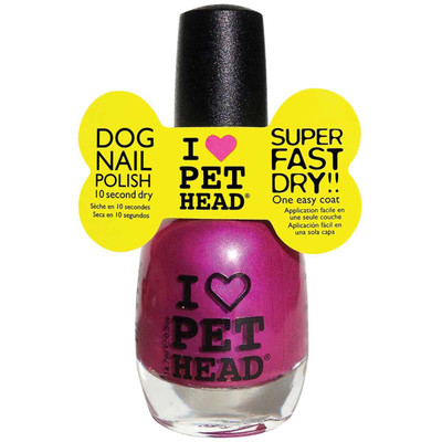 Pet Head Dog Fast Drying Nail Polish- Fun Purple .5 oz