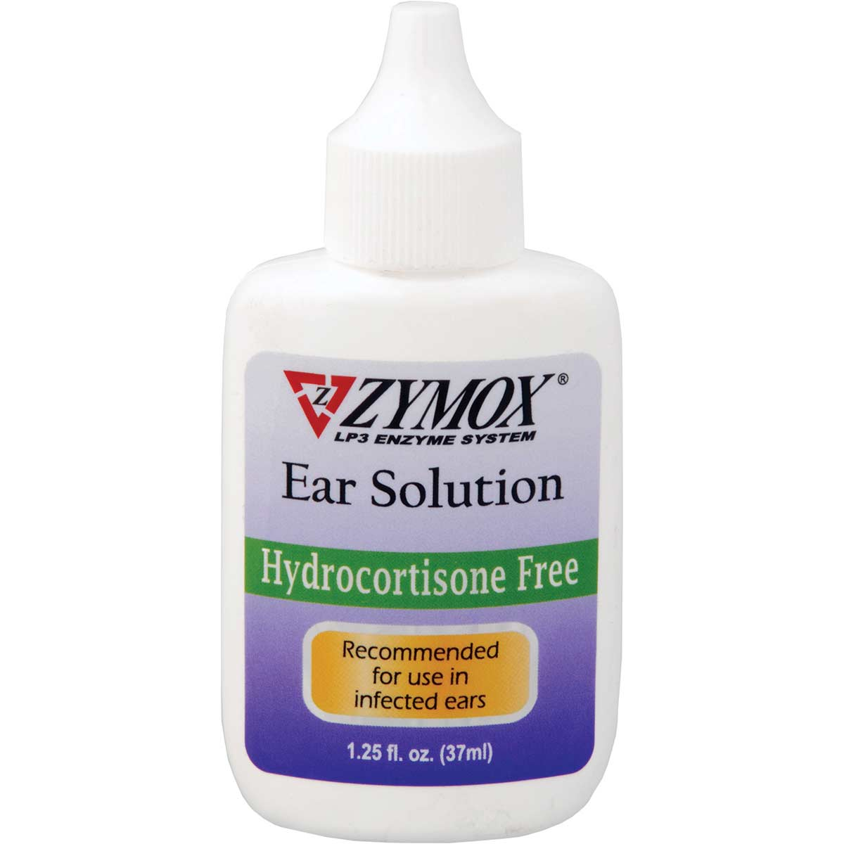 Zymox Inflammation Ear Solution for Dogs Hydrocortisone Free