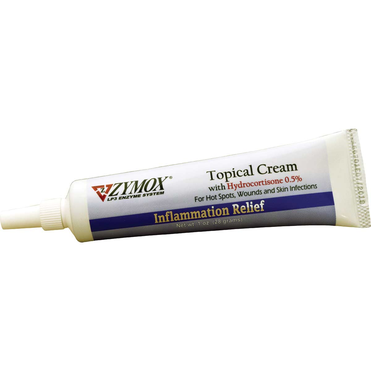 Zymox Inflammation Relief Topical Cream for dogs with .5% Hydrocortisone 1 oz