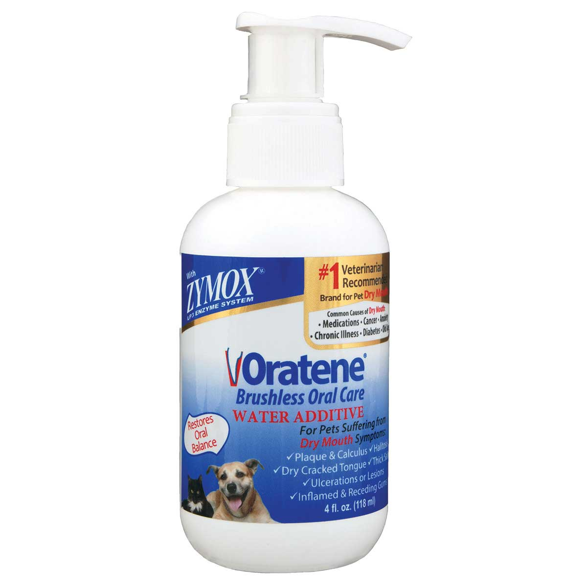 Zymox Oral Care Water Additive for Dogs 4 oz