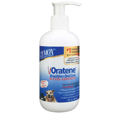 Zymox Oral Care Water Additive for Dogs 8 oz