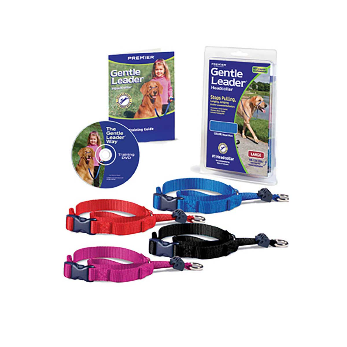 Gentle Leader Quick Release Head Collar for Large Dogs 60 - 130 lbs