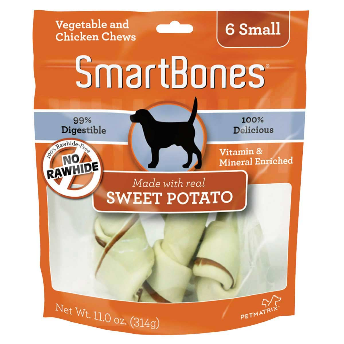 SmartBones Sweet Potato Small 6 Pack Dog Chews at Ryan's Pet Supplies