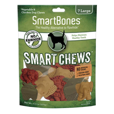 SmartBones Smart Chews Large 7 Pack - Help Maintain Healthy Teeth