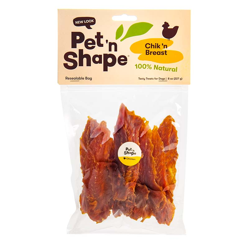 Pet 'n Shape Chik'n Breast Jerky for Dogs 8 oz