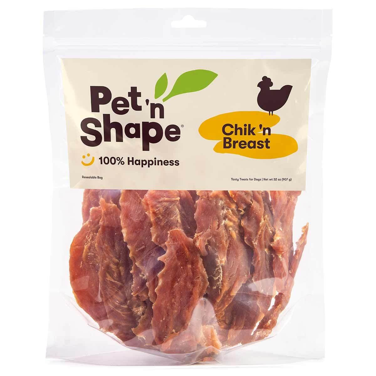 Pet 'n Shape Chik 'n Breast 32 oz Chicken Jerky Treats for dogs