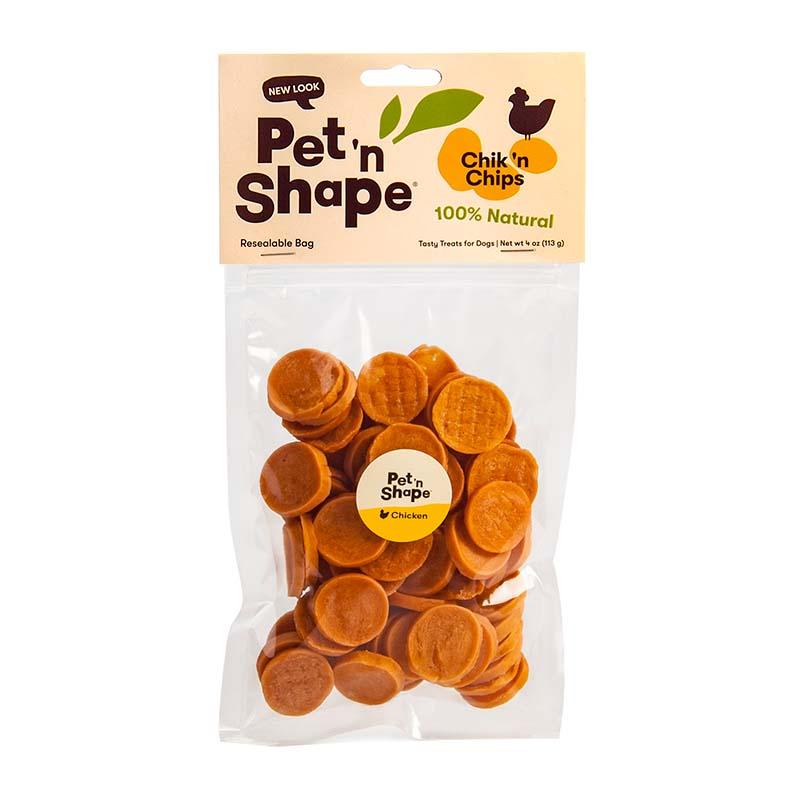 4 oz Pet 'n Shape Chik 'n Chips