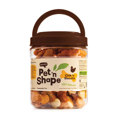 Pet 'n Shape Chik 'n Biscuits 16 oz Dog Treats available at Ryan's Pet Supplies