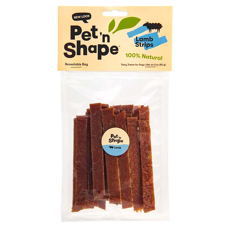 Pet 'n Shape Lamb Strips for Dogs 3 oz
