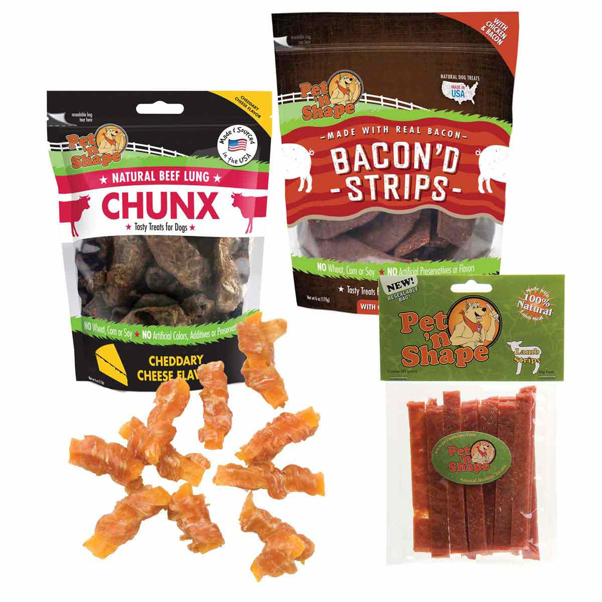 Pet 'n Shape Dog Treats Variety Pack