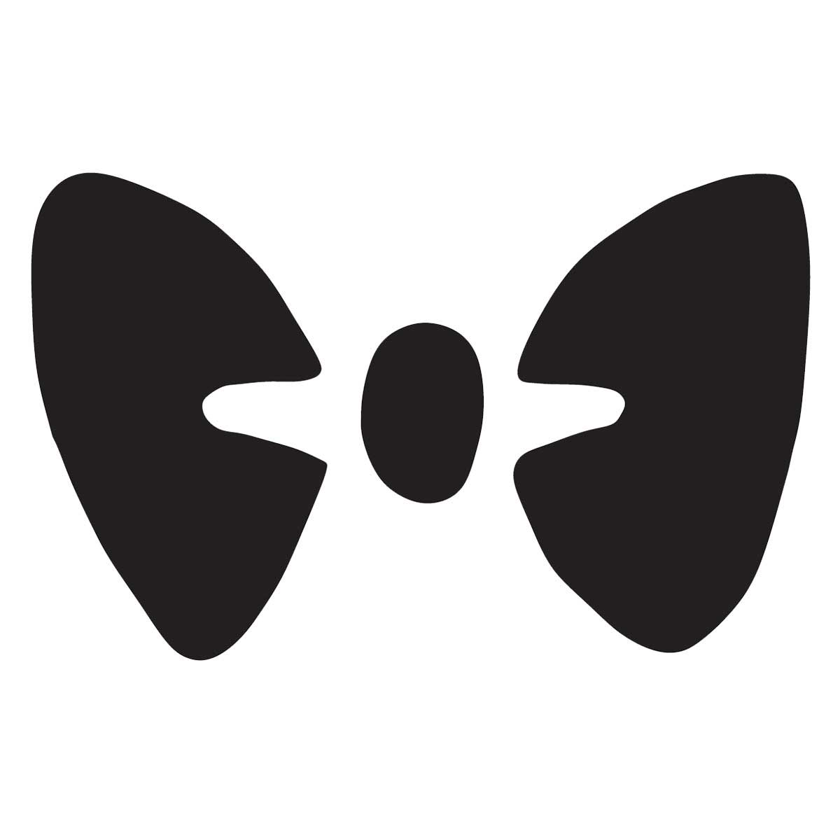 Pet Paint Professional Bow Tie Stencil for Dog Grooming