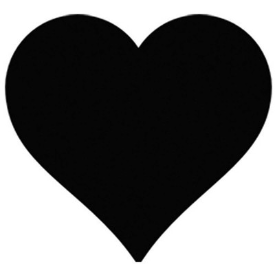 Pet Paint Professional Stencil Heart for Dog Grooming