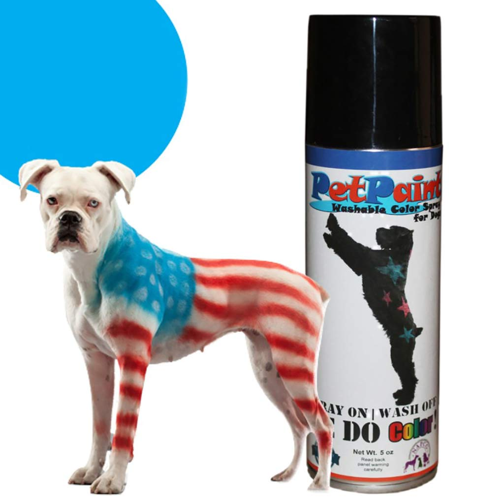 Pet Paint Beagle Blue Washable Fur Spray for Dogs