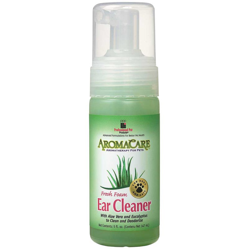 AromaCare Foaming Ear Cleaner for Dogs 5 oz