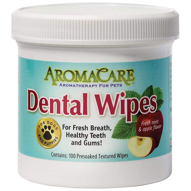 AromaCare Dental Wipes 100 Count at Ryan's Pet Supplies