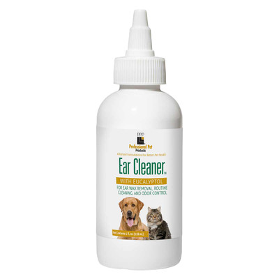 Professional Pet Products Ear Cleanser for Dogs With Eucalyptol
