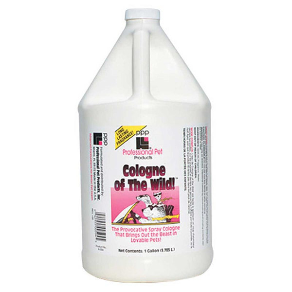 Professional Pet Products Spray Cologne of The Wild Gallon for Dogs - Original