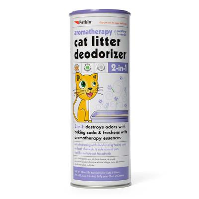 Petkin Cat Litter Deodorizer Lavender 20 oz