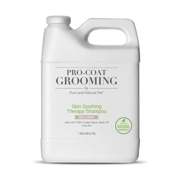 Pro Coat Grooming Silk Soothing Therapy Shampoo Gallon for Dogs